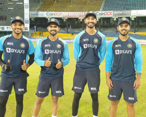 Watch: Chetan Sakariya, Nitish Rana, Devdutt Padikkal, And Ruturaj Gaikwad Receive Their Maiden T20I Caps