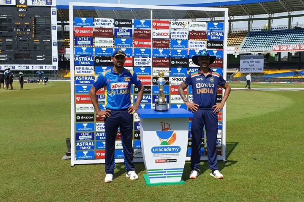 Dasun Shanaka and Shikhar Dhawan, Sri Lanka vs India