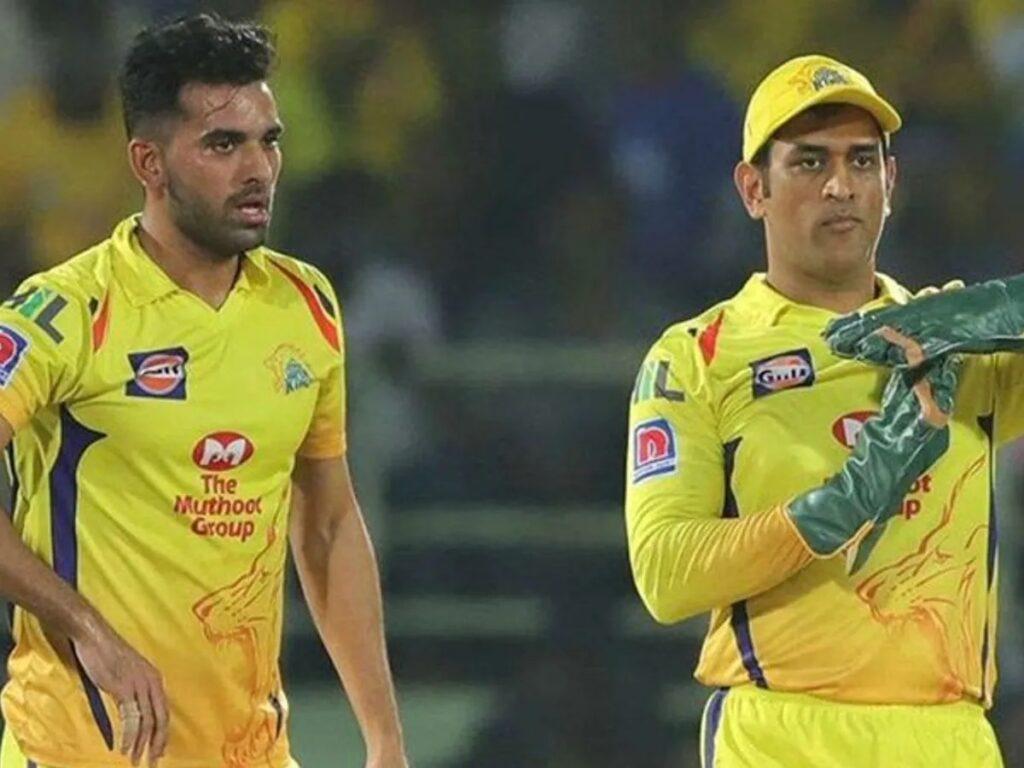 Deepak Chahar reveals he has been selected for the Pune IPL team as a batsman