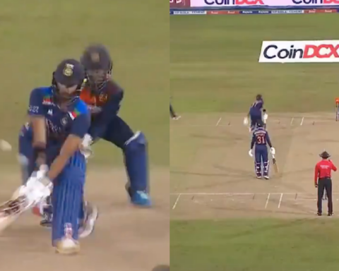 Watch: Devdutt Padikkal Gets Dismissed Twice On The Same Delivery In 3rd T20I vs Sri Lanka