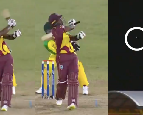 Watch: Dwayne Bravo's One-Handed Six Off Ashton Agar Flies Over The Roof Of The Deep Square Leg Region