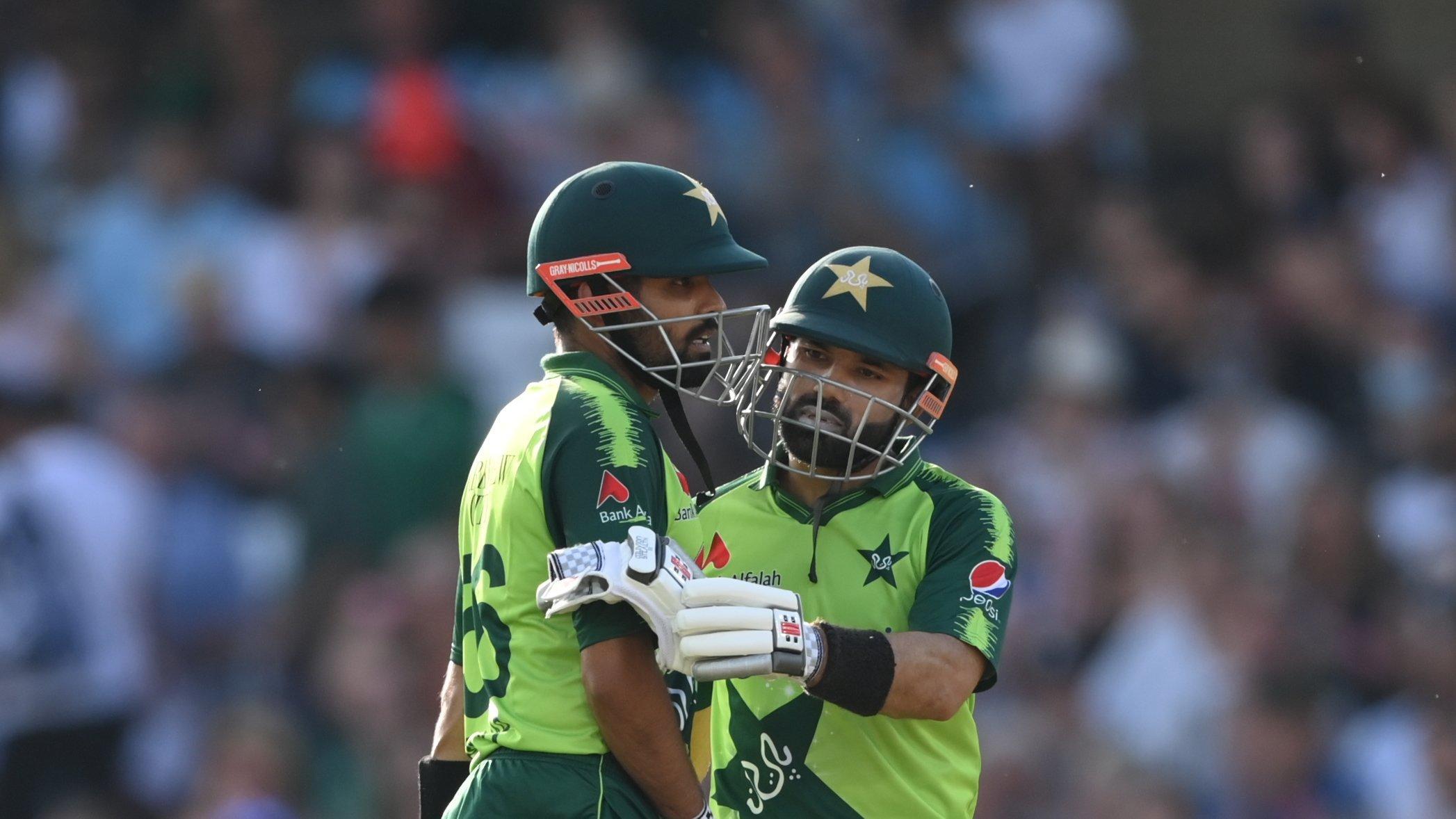 Babar Azam and Mohammad Rizwan