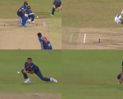 Watch: Krishnappa Gowtham Claims His Maiden ODI Wicket As Minod Bhaunka Holes Out To Chetan Sakariya At Square Leg