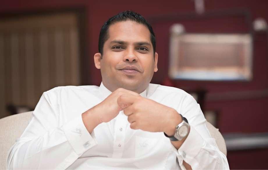 Sri Lanka's Sports Minister Harin Fernando (Photo-Twitter)