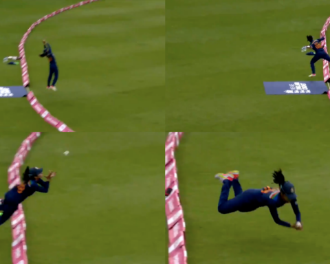 Watch: Harleen Deol Takes A Stunning Catch On The Boundary In First T20I vs England