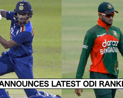 ICC ODI Rankings: Shikhar Dhawan Moves To 16th Spot For Batsmen; Shakib Al Hasan Breaks Into Top 10 In Bowlers' Rankings
