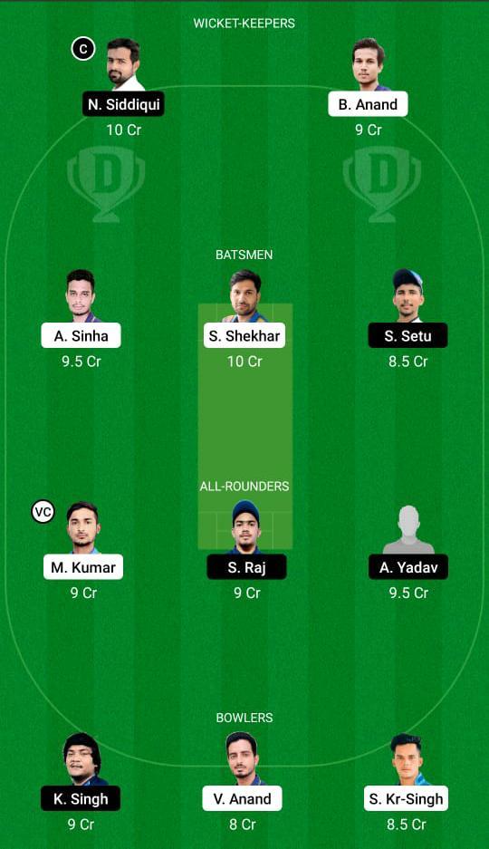 DUM vs DHA Dream11 Prediction Fantasy Cricket Tips Dream11 Team BYJU's Jharkhand T20