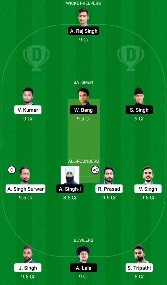 JAM vs SIN Dream11 Prediction Fantasy Cricket Tips Dream11 Team BYJU's Jharkhand T20