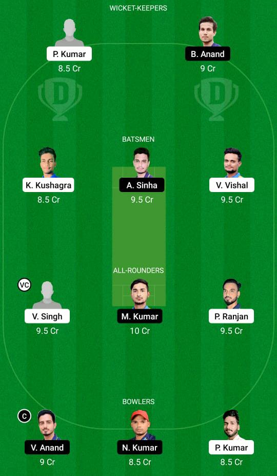 BOK vs DUM Dream11 Prediction Fantasy Cricket Tips Dream11 Team BYJU's Jharkhand T20