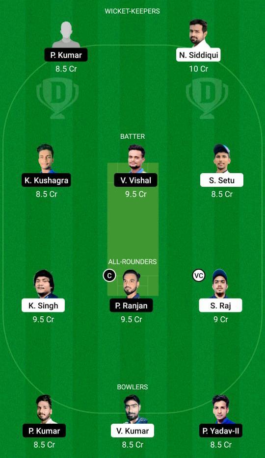 DHA vs BOK Dream11 Prediction Fantasy Cricket Tips Dream11 Team BYJU's Jharkhand T20