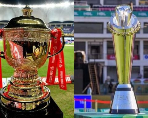 IPL and PSL trophy (Photo-Twitter)