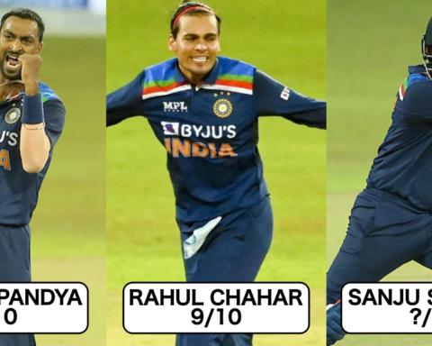 Sri Lanka vs India T20I Series: Performance Rating Of India Squad