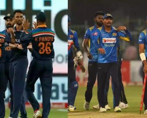 India team and Sri Lanka , Sri Lanka vs India 1st ODIteam