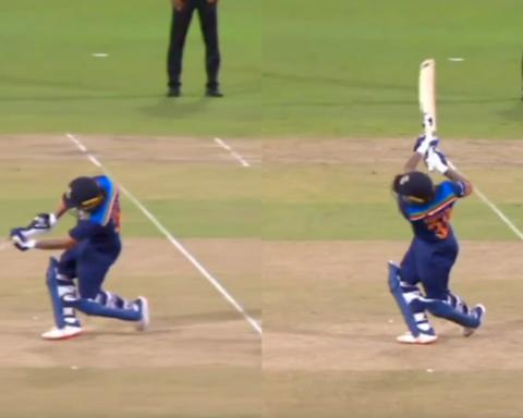 Watch: Ishan Kishan Starts His ODI Career With A Six