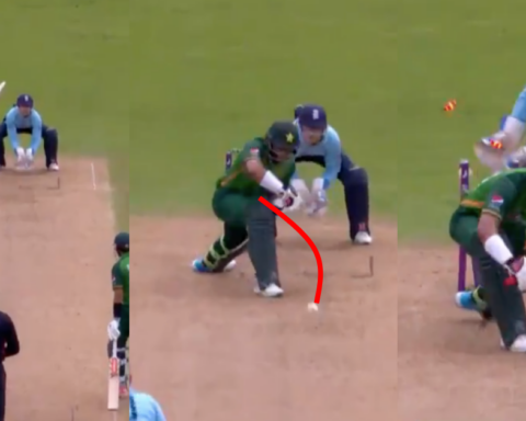 Watch: Matt Parkinson Knocks Over Imam-Ul-Haq With A Dream Delivery