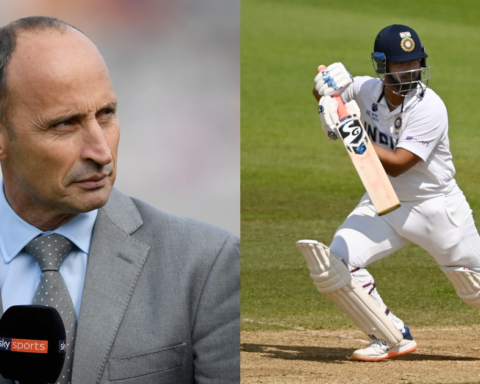 Rishabh Pant At Number 6 In England Is One Place Too High - Nasser Hussain