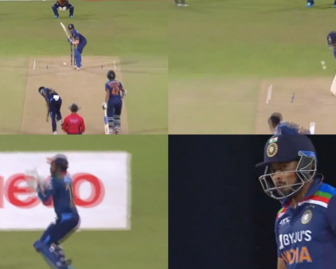Watch: Dushmantha Chameera Hands Prithvi Shaw A First-Ball Duck On T20I Debut