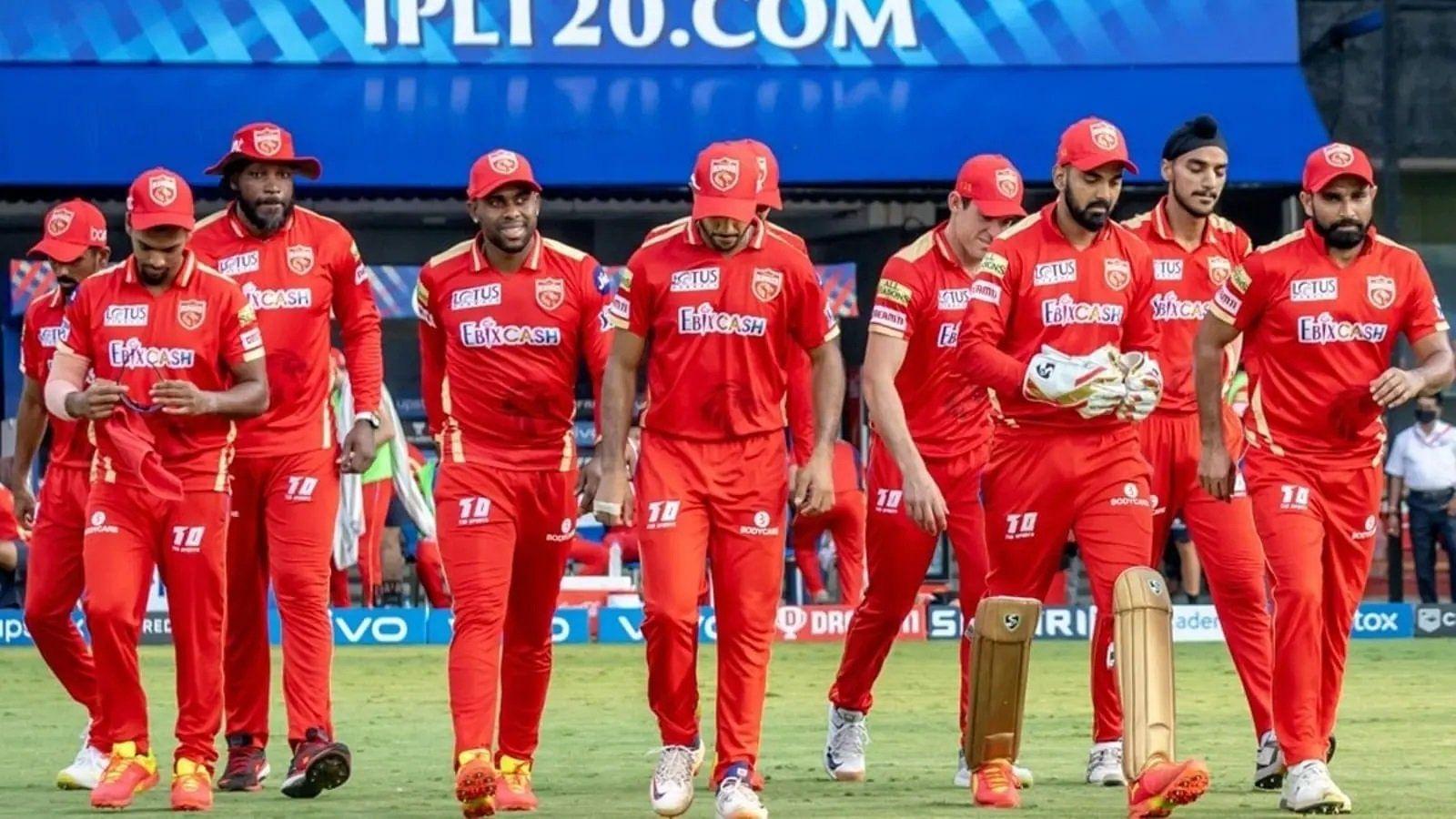 Punjab Kings, IPL 2021, IPL 2022