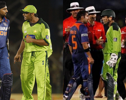 5 Most Heated On Field Exchanges In An India-Pakistan Clash