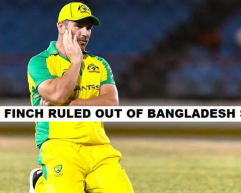 Aaron Finch Ruled Out Of Bangladesh Tour
