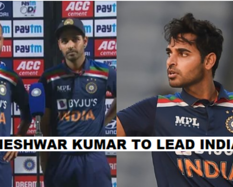 Bhuvneshwar Kumar To Captain Team India In The Remaining T20Is Against Sri Lanka- Reports