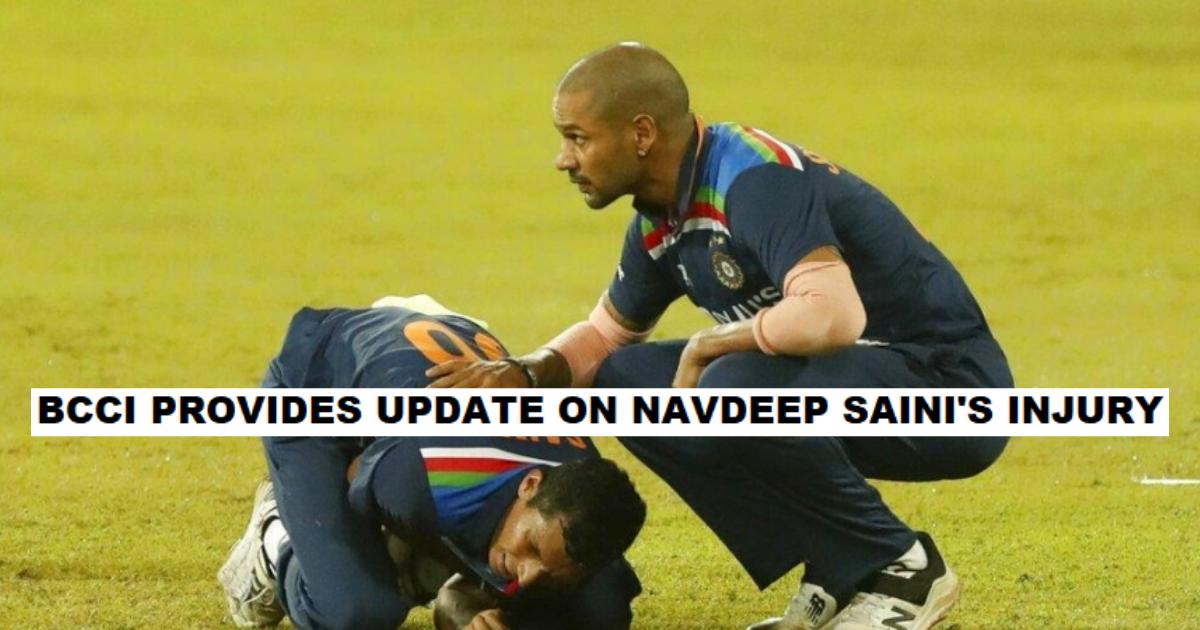 Navdeep Saini Injury Update