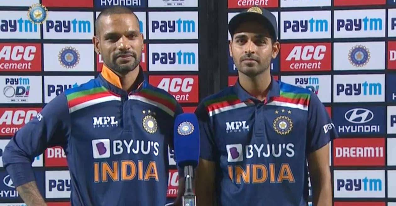 Shikhar Dhawan and Bhuvneshwar Kumar, India vs Sri Lanka Series 2021