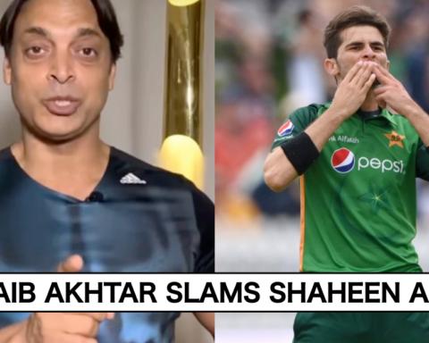 Shoaib Akhtar Slams Shaheen Afridi