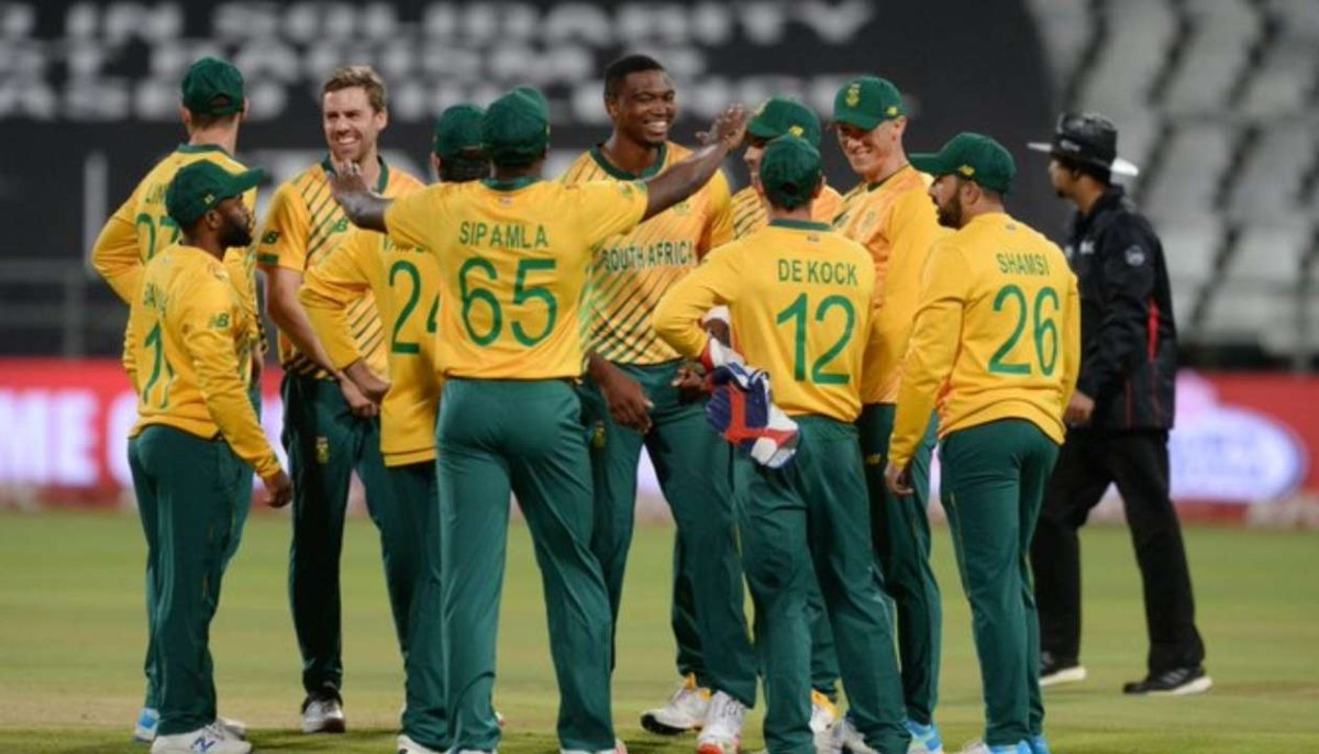 South Africa Cricket Team.