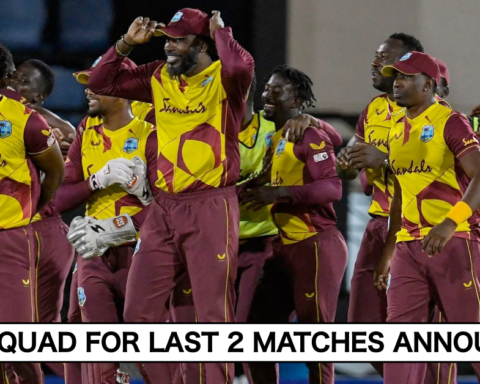 West Indies Announce T20I Squad For Last 2 Matches vs Australia; 2 Changes In The Squad