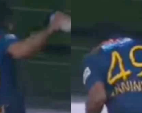 Watch: Wanindu Hasaranga Celebrates Victory In The 2nd T20I Vs India By Throwing A Bottle