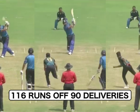 Watch: When Deepak Chahar Smashed 116 Off 90 Deliveries With 9 Sixes