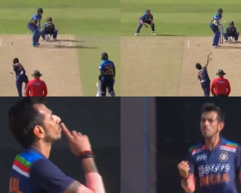 Watch: Yuzvendra Chahal Claims Two in Two As India Finally Break The 77-Run Opening Stand
