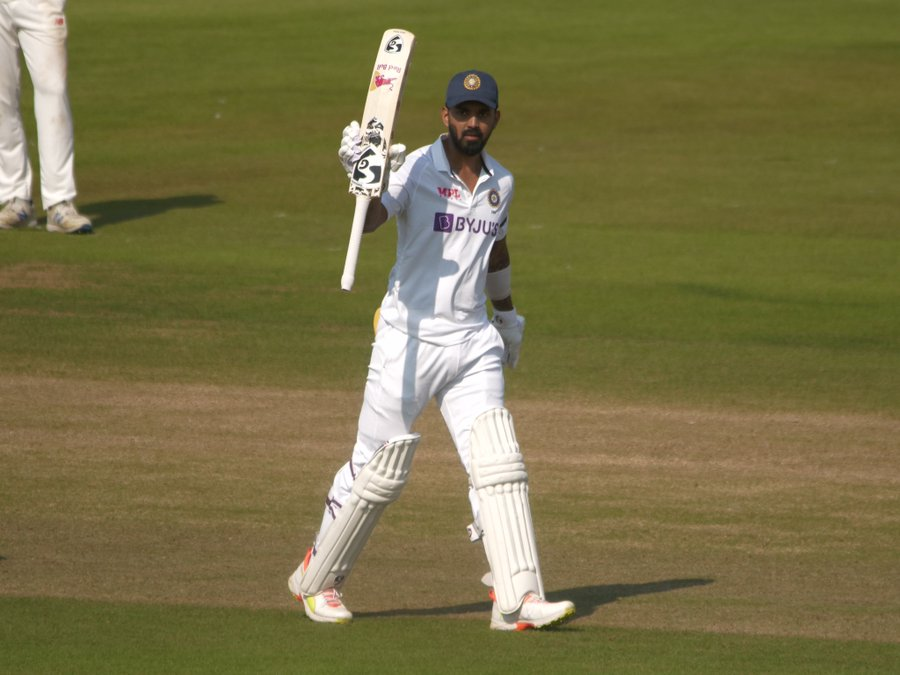 KL Rahul Scores A Century Against County Select XI In Warm-Up Clash (Photo- BCCI Twitter)