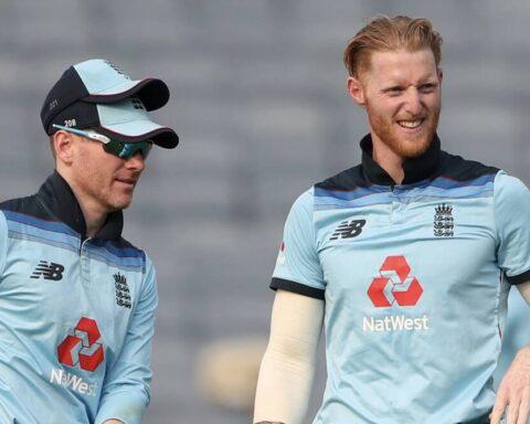 Ben Stokes and Eoin Morgan (Photo-Getty)