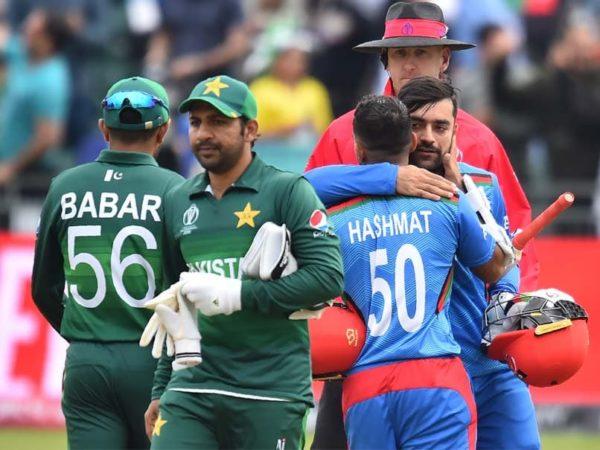 Afghanistan vs Pakistan.