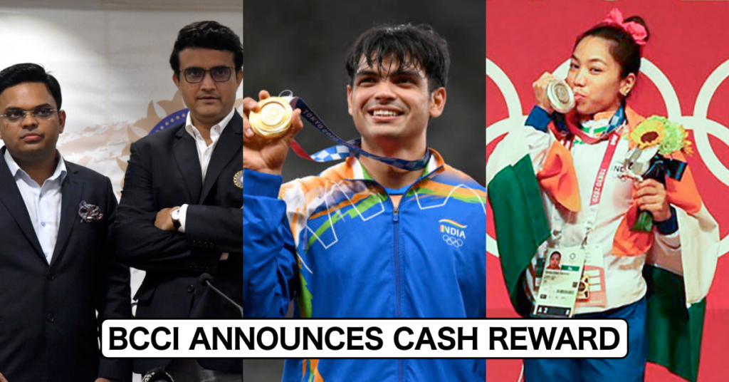 BCCI, announces cash prize for Tokyo 2020 Olympic medals in India