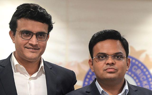 BCCI President Sourav Ganguly and Secretary Jay Shah