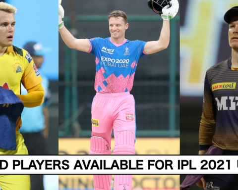 England Players Available UAE Leg IPL 2021