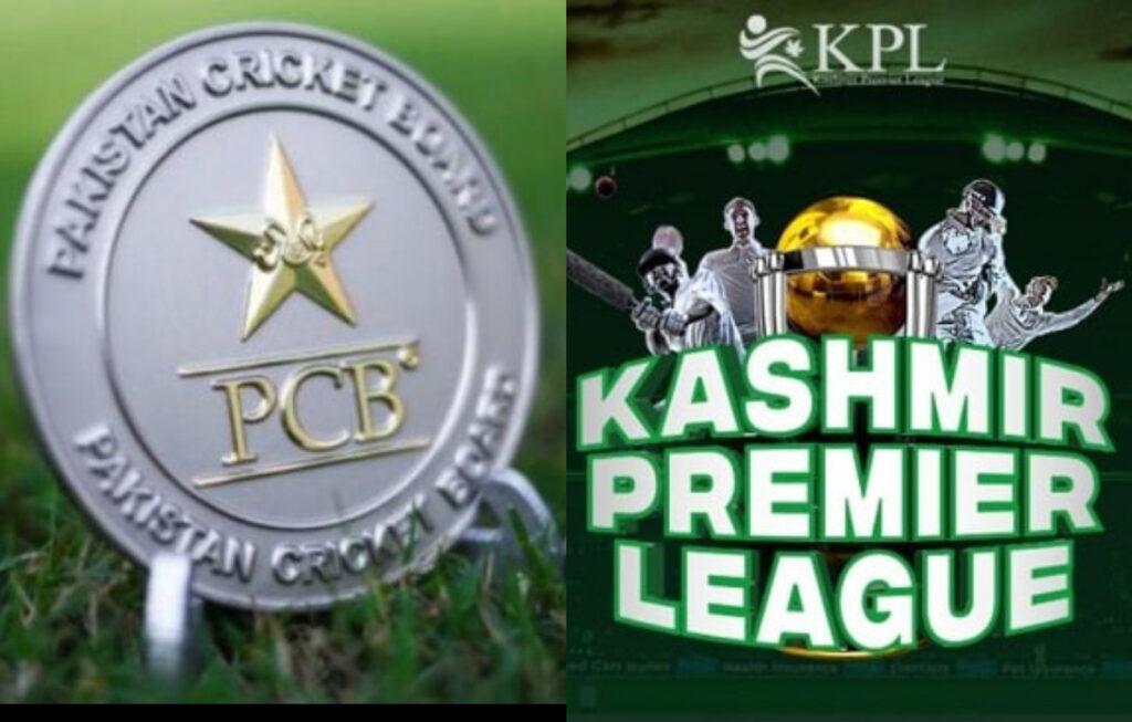 Kashmir Premier League hosted by PCB.  Photo Twitter