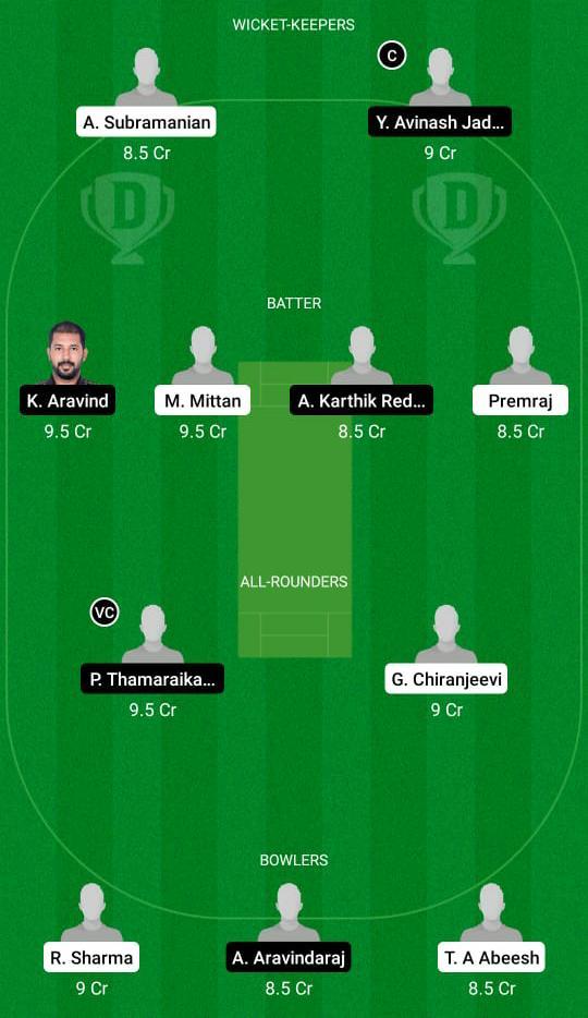 SHA vs TUS Dream11 Prediction Fantasy Cricket Tips Dream11 Team BYJUs Pondicherry T20