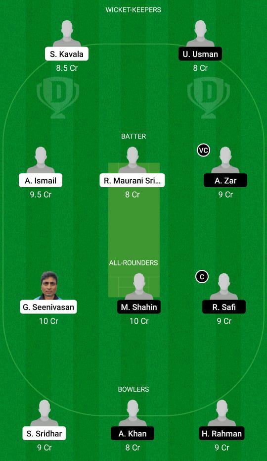 HSG vs GOC Dream11 Prediction Fantasy Cricket Tips Dream11 Team FanCode ECS T10 Malmö
