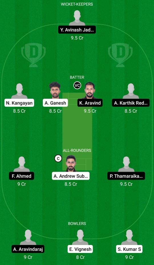 TIG vs TUS Dream11 Prediction Fantasy Cricket Tips Dream11 Team BYJUs Pondicherry T20