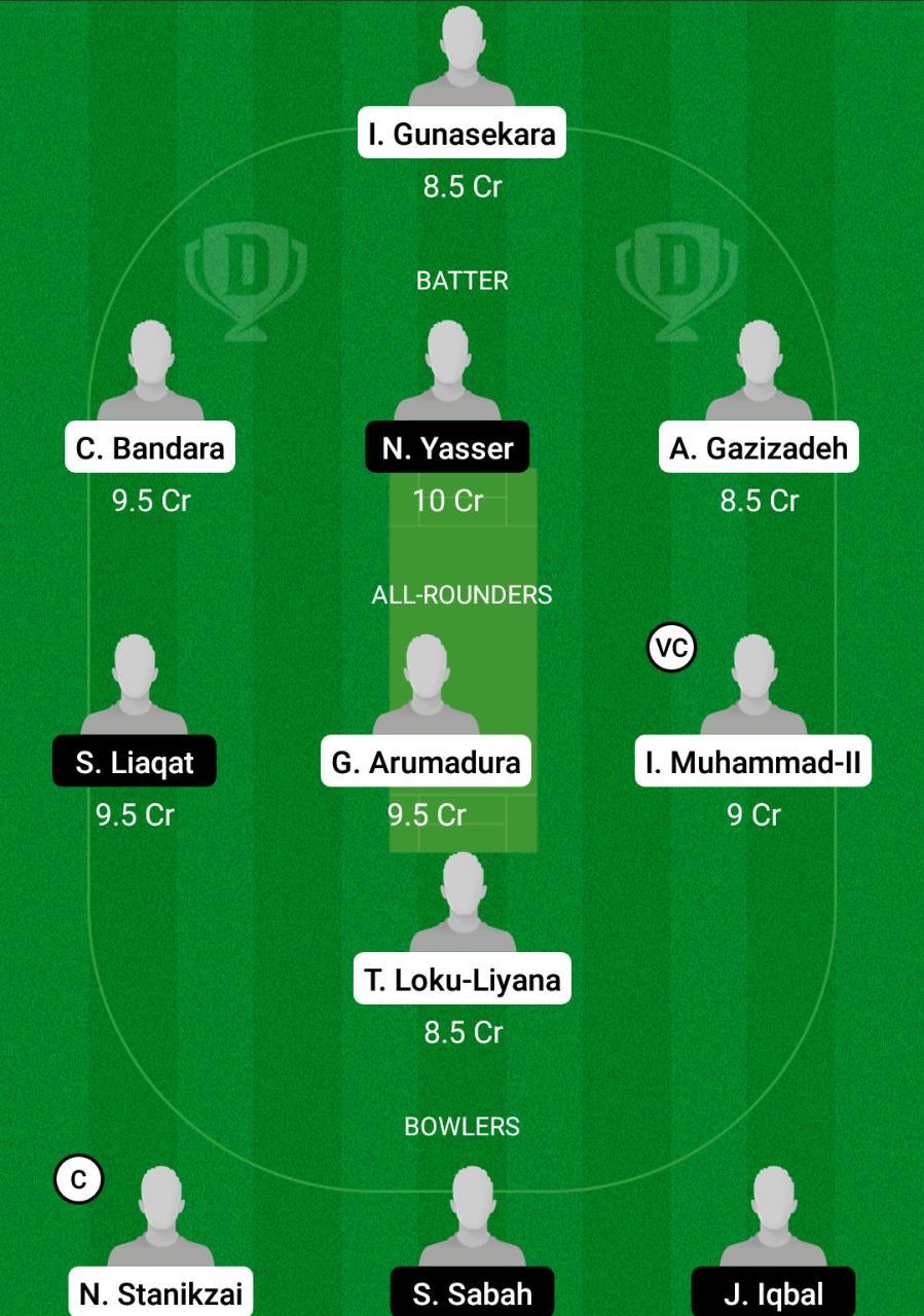 FBL vs BSCR Dream11 Prediction Fantasy Cricket Tips Dream11 Team FanCode ECS T10 Dresden
