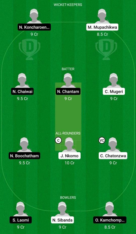ZM-W vs TL-W Dream11 Prediction Fantasy Cricket Tips Dream11 Team Thailand Women's Tour of Zimbabwe