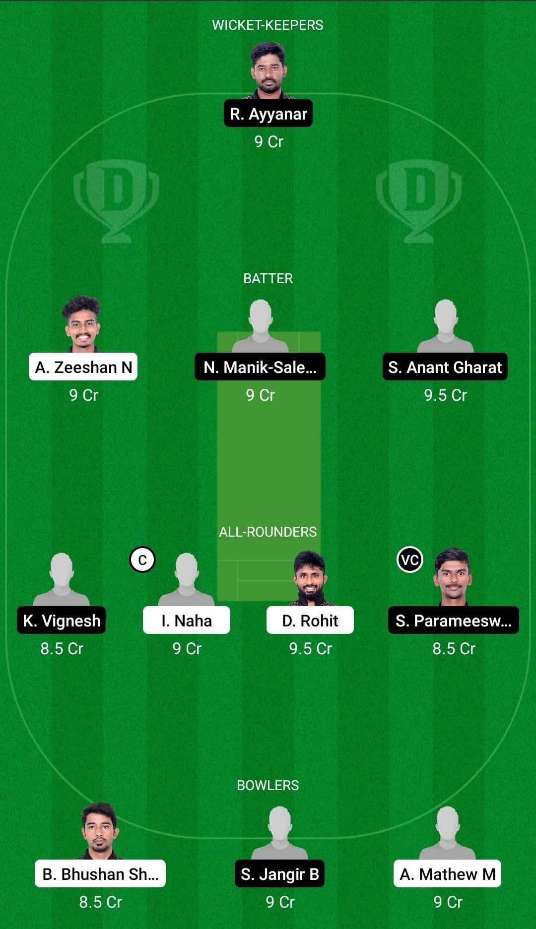 PAN vs LIO Dream11 Prediction Fantasy Cricket Tips Dream11 Team BYJUs Pondicherry T20