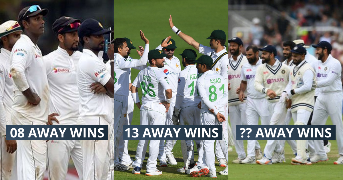 4 Asian Teams With The Most Overseas Wins In Test Cricket Since 2010