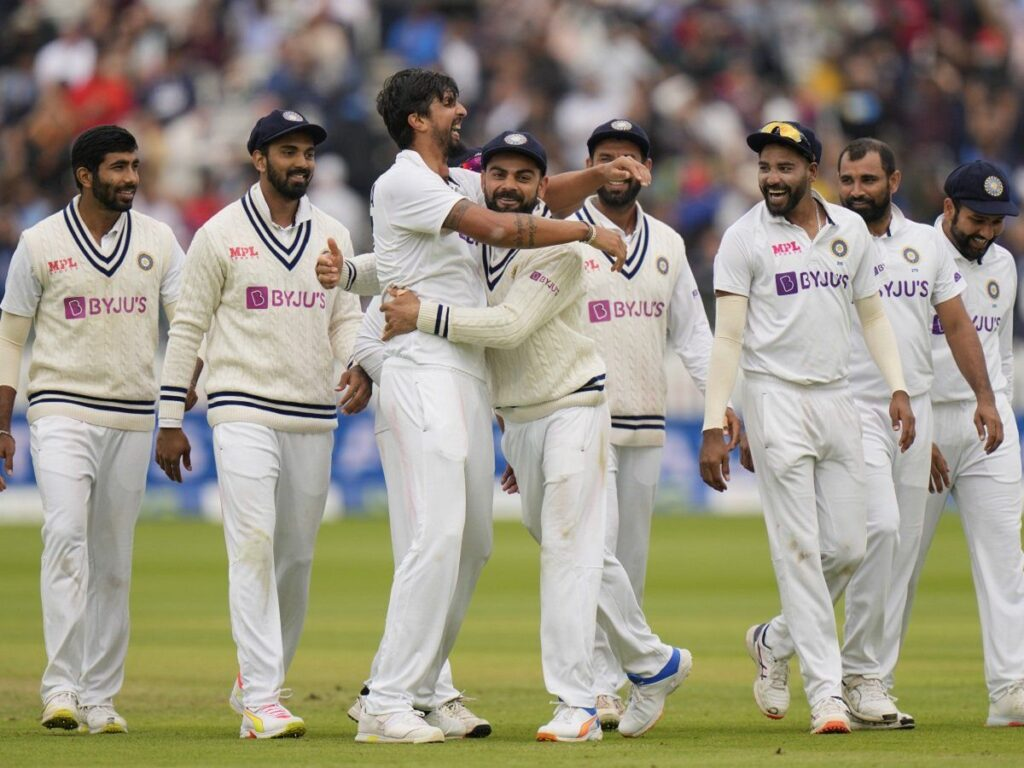 Indian team defeats England at Lord's