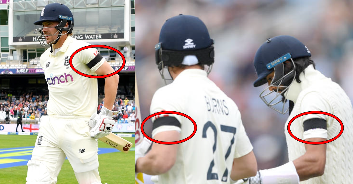 Revealed: Why England Players Are Wearing Black Armbands On Day 2 Of The Headingley Test