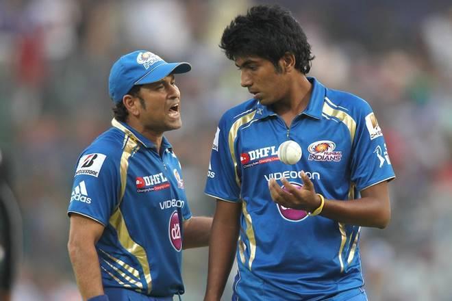 Sachin Tendulkar and Jasprit Bumrah